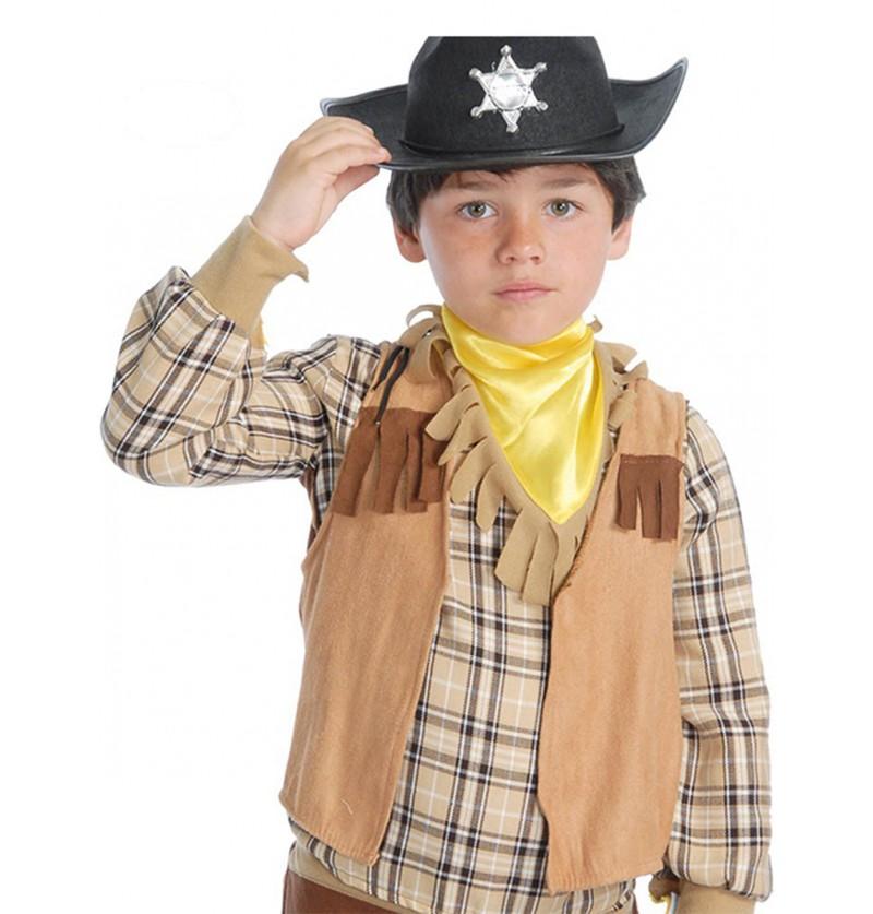 Chaleco de vaquero infantil