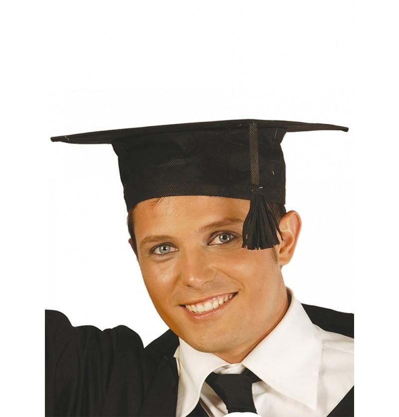 Sombrero de graduado de tela