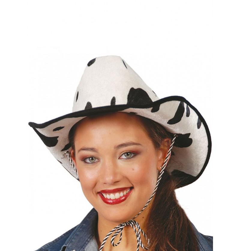 Sombrero de vaquero de vaca