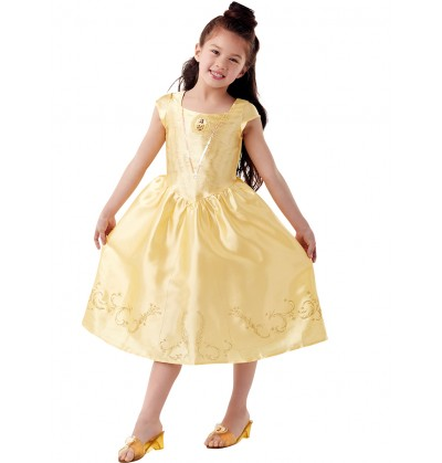 Disfraz de Bella La Bella y la Bestia classic en caja para niña