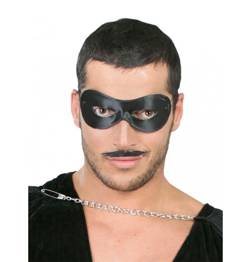 Antifaz Pierrot negro