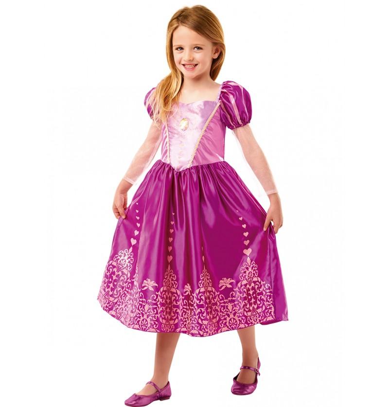 Disfraz de Rapunzel classic deluxe para niña