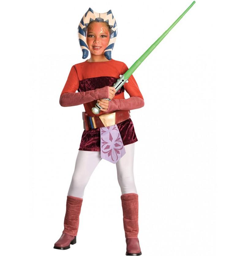 Disfraz de Ahsoka The Clone Wars deluxe infantil