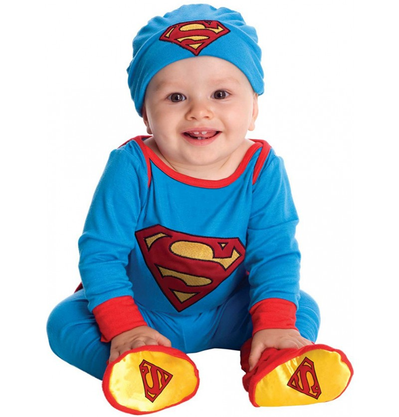 Disfraz de Superman adorable para bebé