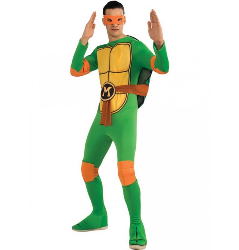 Disfraz de Mikey Tortugas Ninja classic