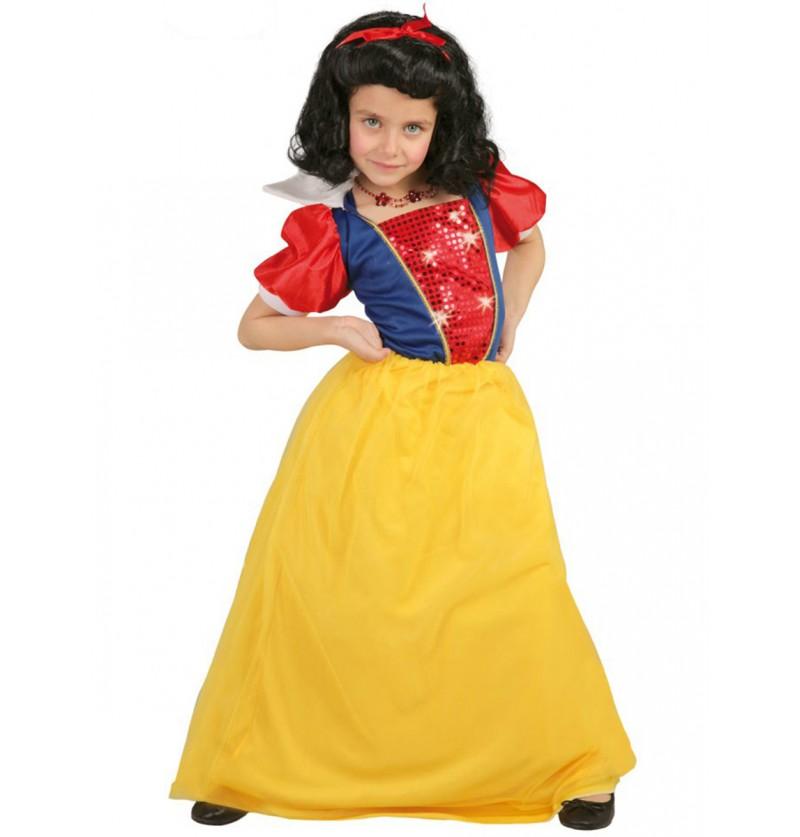 Disfraz de princesa del bosque infantil