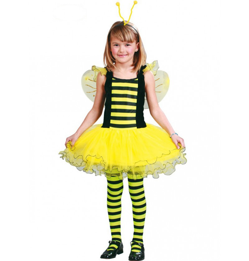 Disfraz de abejita para niña