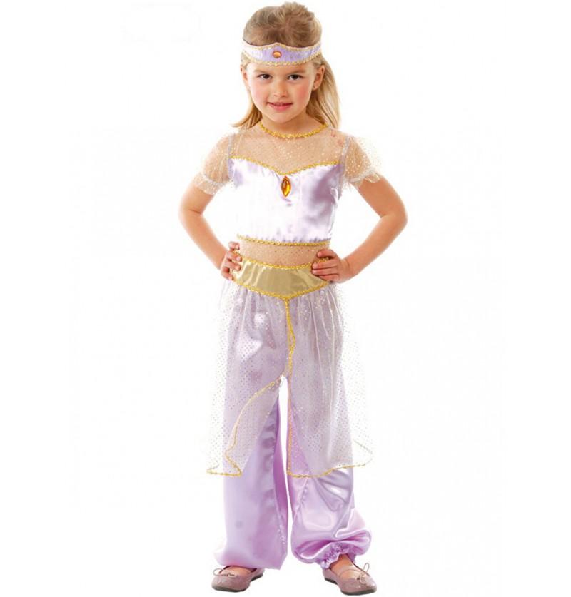 Disfraz de princesa del desierto para niña