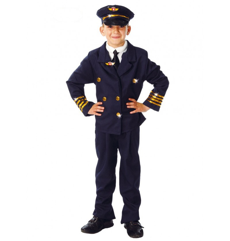 Disfraz de piloto aventurero para niño