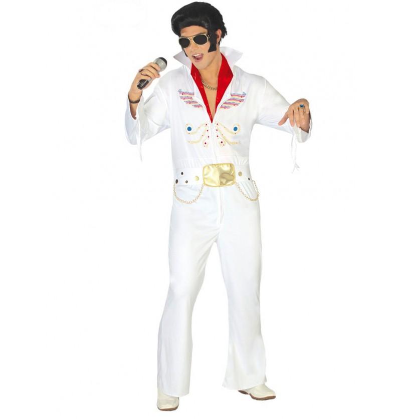 Disfraz de rey del rock bailongo