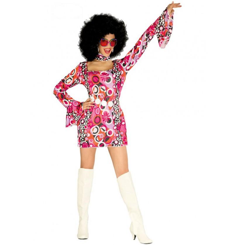 Disfraz de chica de disco