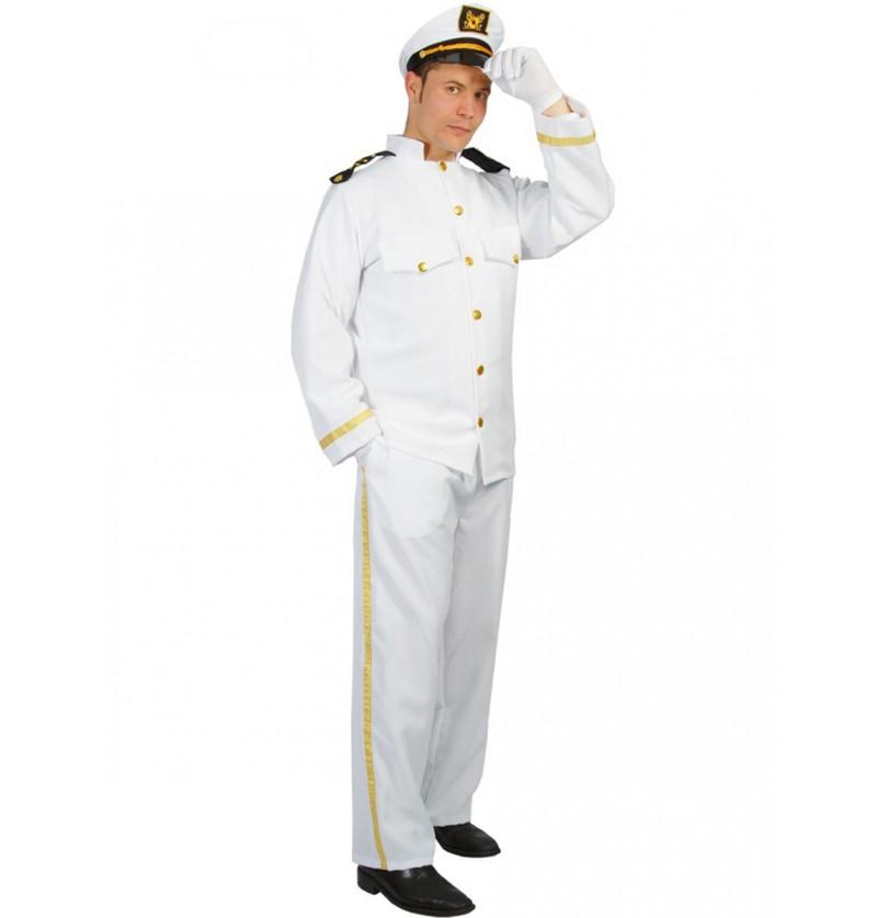 Disfraz de capitán de crucero