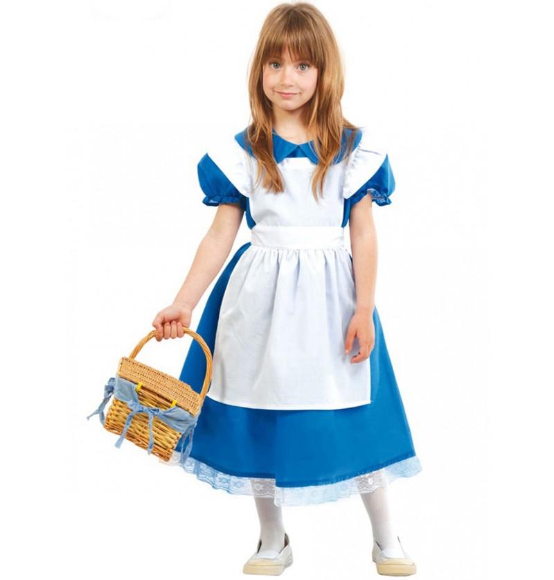 Disfraz de Alicia del Bosque para niña