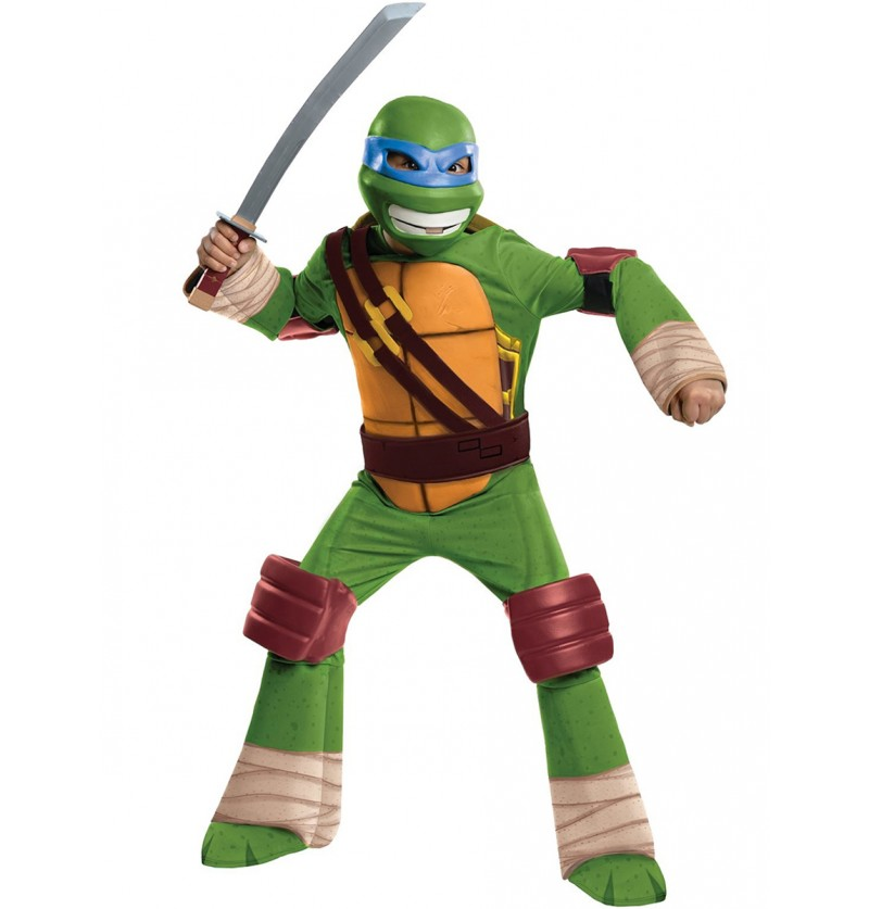 Disfraz de Leo Tortugas Ninja infantil