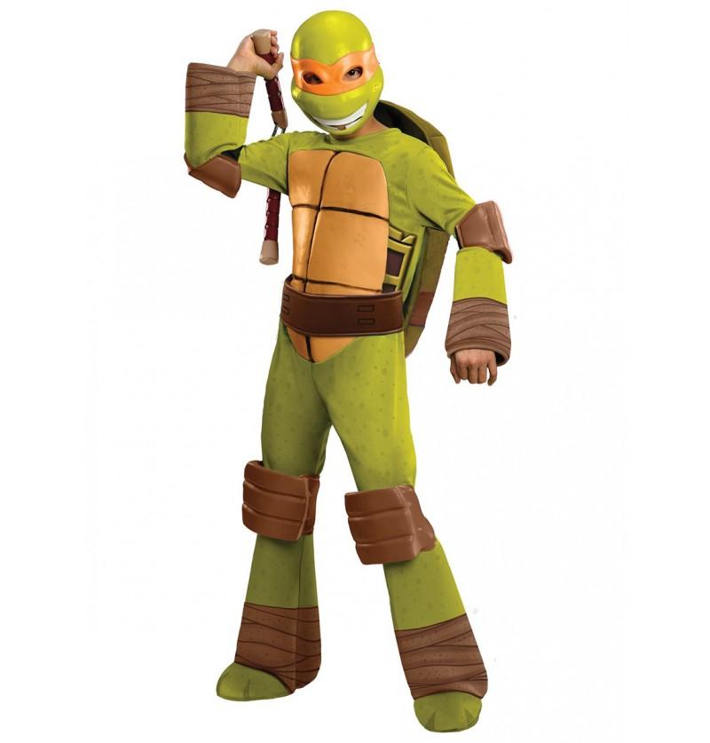 Disfraz de Mickey Tortugas Ninja infantil
