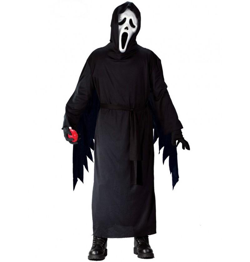 Disfraz de fantasma mortal infantil