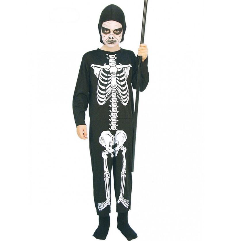 Disfraz de esqueleto huesitos para niño