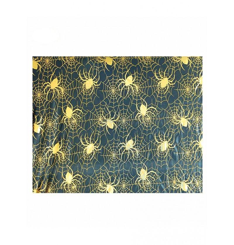 Tela de decoración telarañas