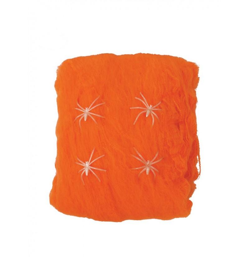 Telaraña naranja