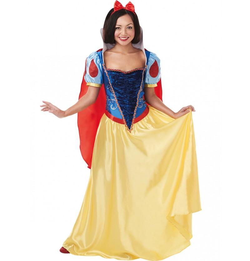 Disfraz de Blancanieves para mujer