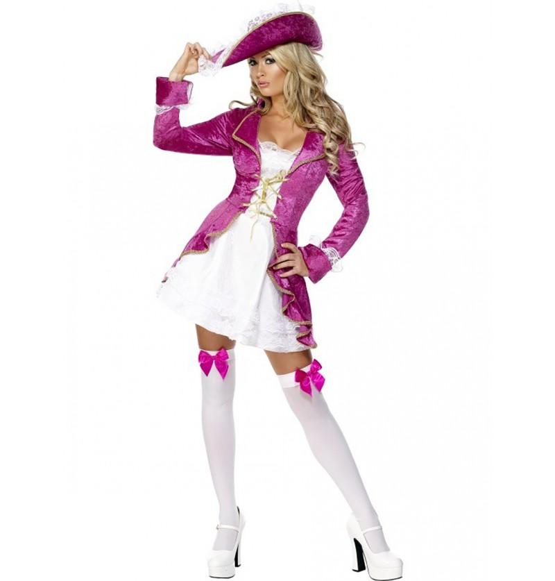 Disfraz de pirata del tesoro Fever para mujer