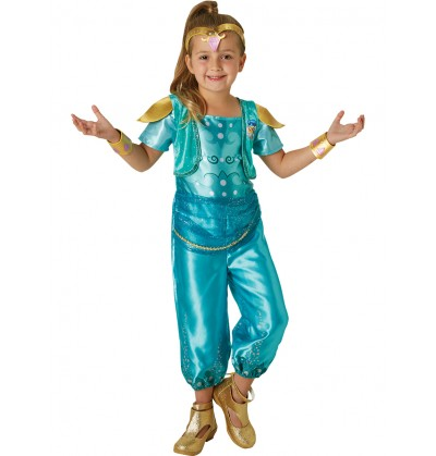 Disfraz de Shine Shimmer y Shine para niña