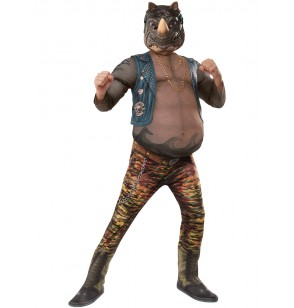 disfraz de rocksteady las tortugas ninja 2 deluxe para nio