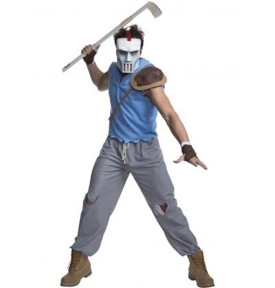 disfraz de casey jones las tortugas ninja para hombre