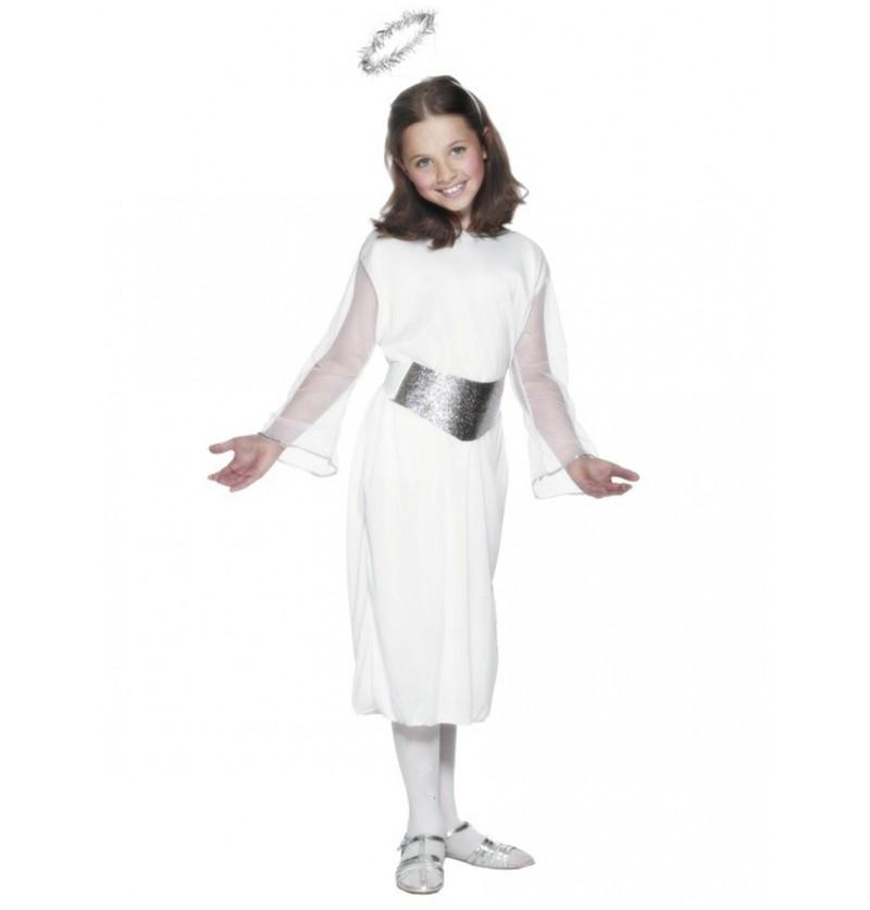 Disfraz de ángel Classic para niña