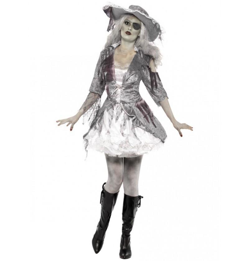 Disfraz de corsaria de barco fantasma
