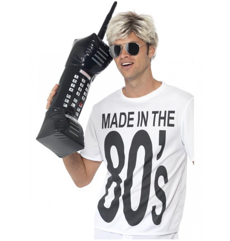 Teléfono retro hinchable