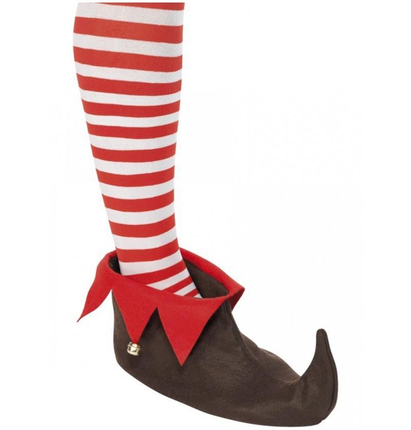 Zapatos de elfo marrones