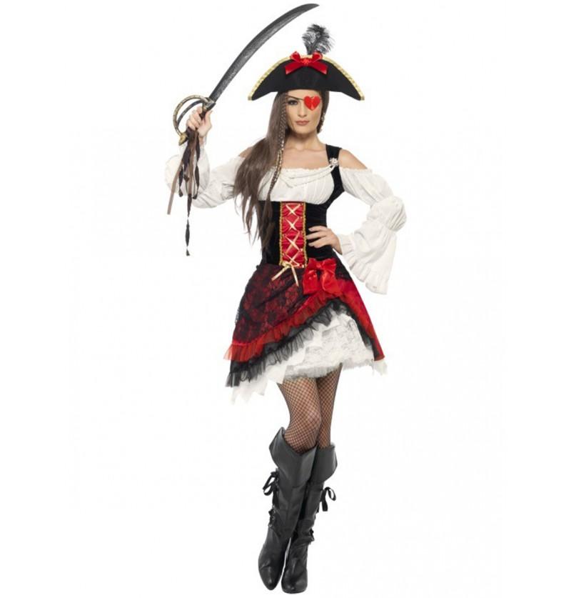 Disfraz de corsaria sexy para mujer