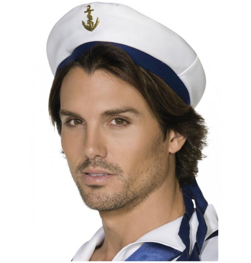 Gorra de marinero con ancla