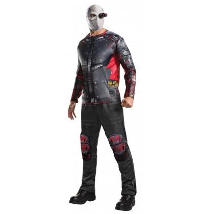 disfraz de deadshot escuadrn suicida deluxe para hombre