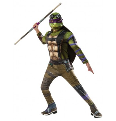 disfraz de donatello tortugas ninja 2 deluxe para nio