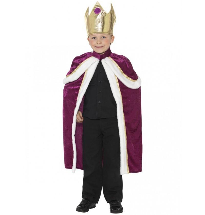 Disfraz de niño rey