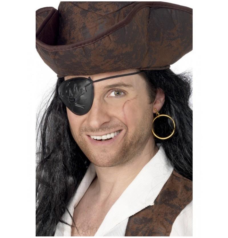 Parche pirata y pendiente