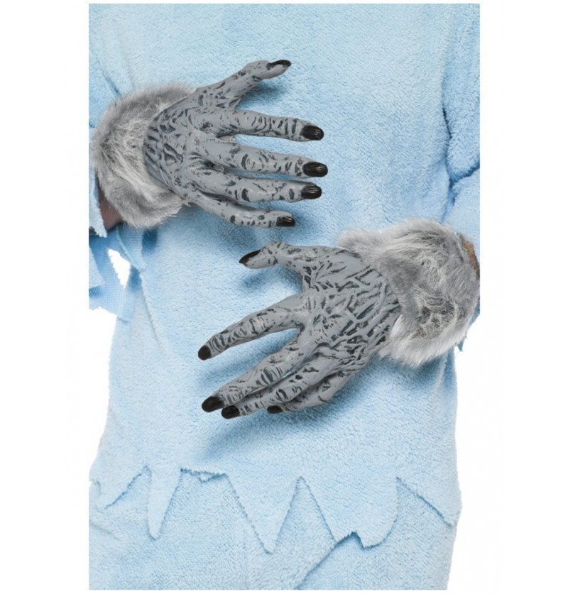 Manos de hombre lobo