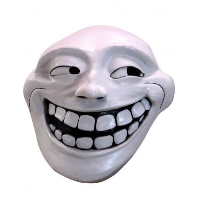 mscara de trollface de ltex para adulto