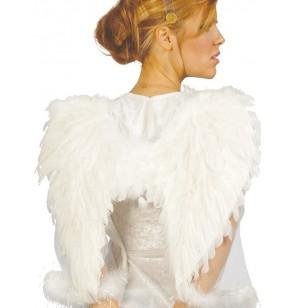 alas de ngel con plumas blancas