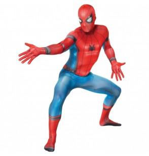 Disfraz de Spiderman Homecoming Morphsuit para adulto