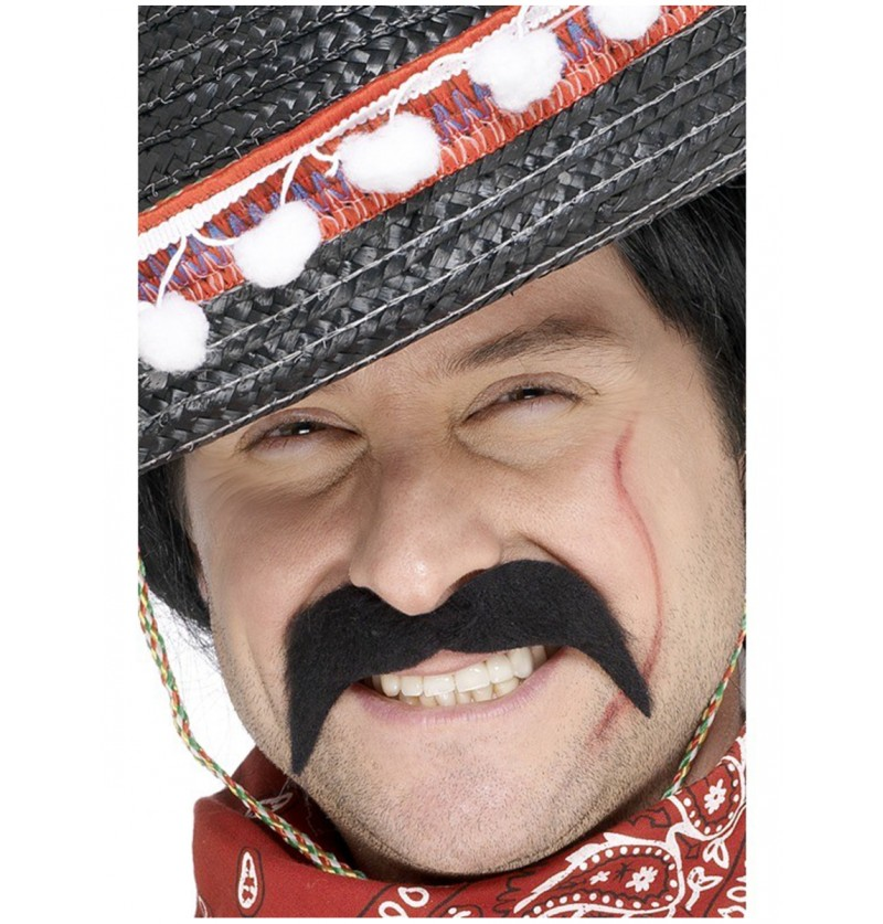 Bigote de bandido mexicano