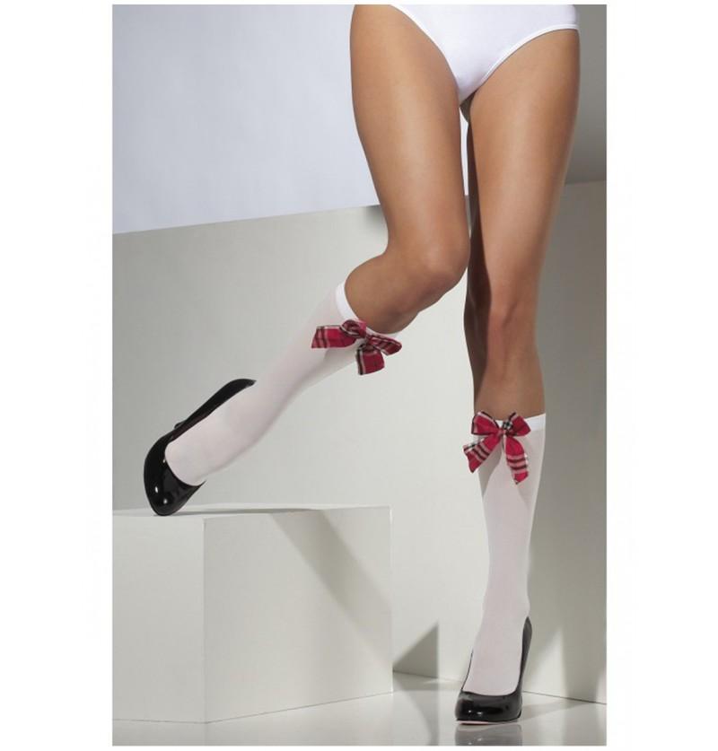 Calcetines hasta la rodilla de colegiala