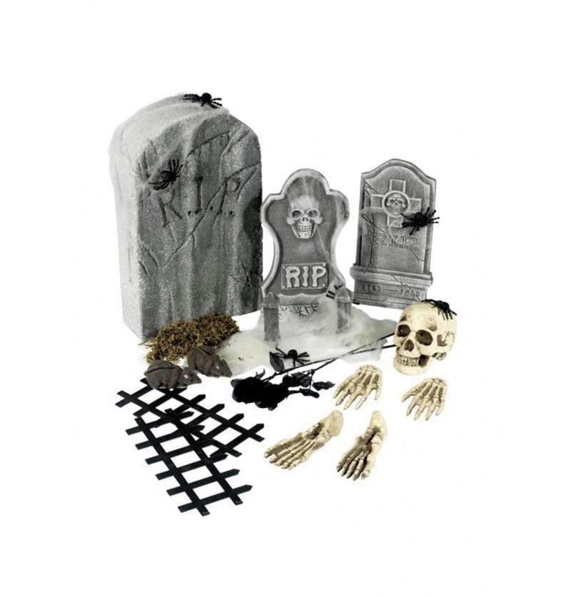 Set de piezas de cementerio