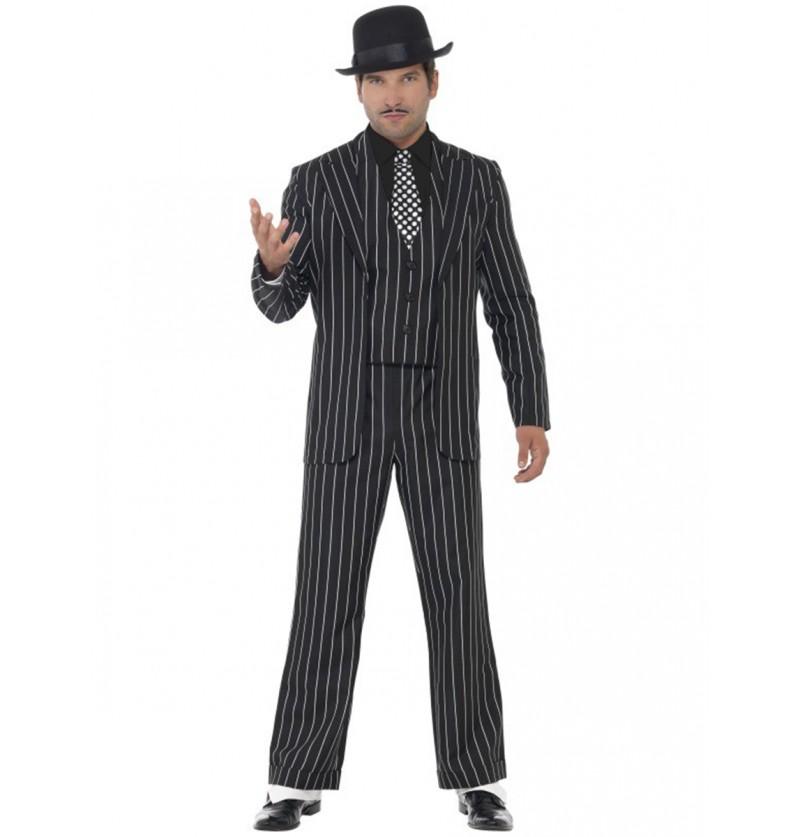 Disfraz de jefe gángster vintage
