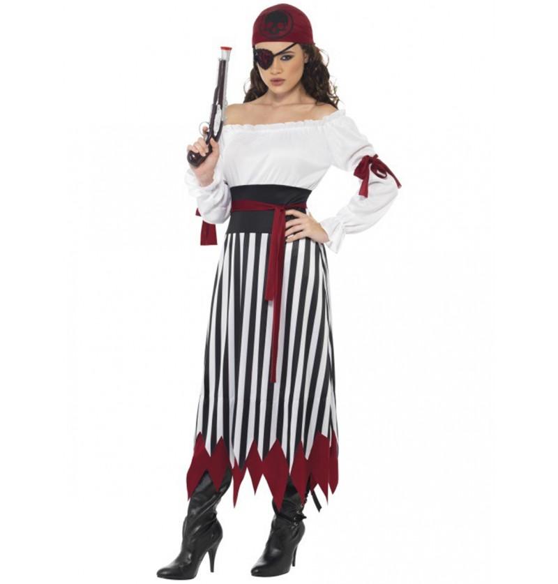 Disfraz de pirata guerrera