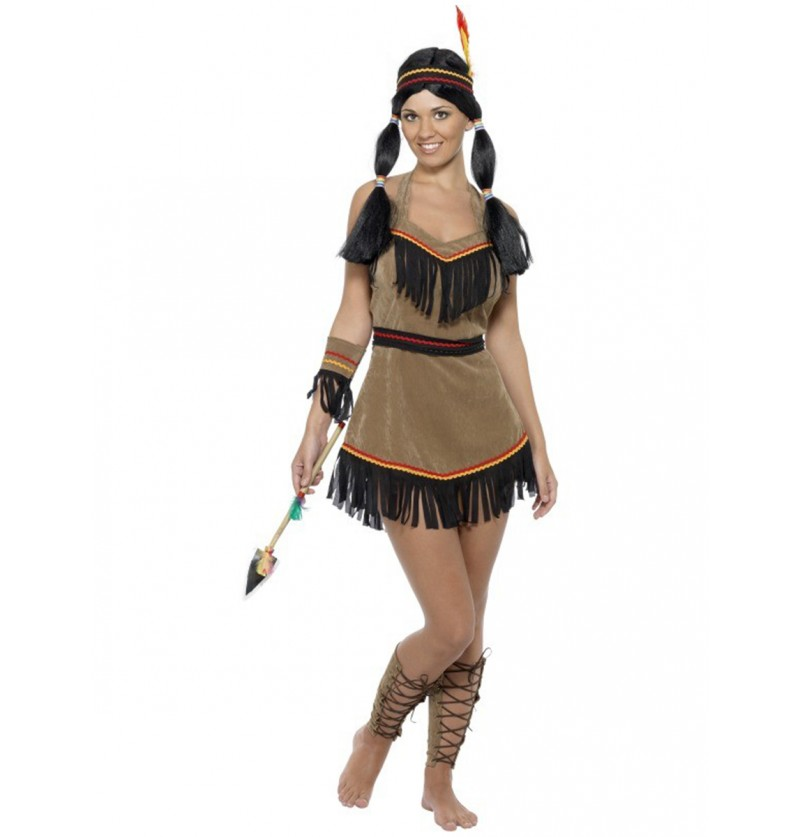 Disfraz de mujer india sexy