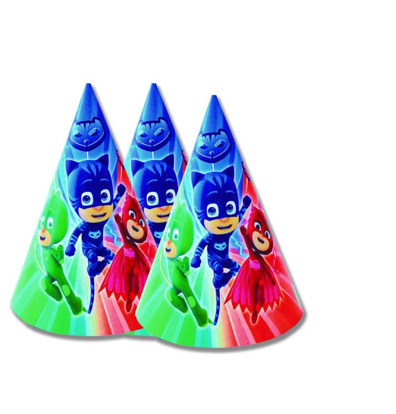 Set de 6 sombreros  PJ Masks