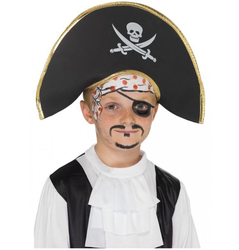 Sombrero de capitán pirata para niño c5bcd619cdf